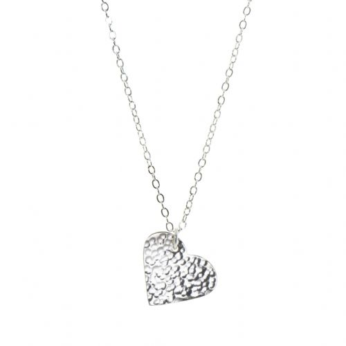 Heart Pendant Silver Plated